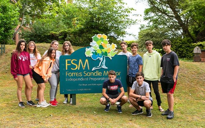 Forres Sandle Manor School